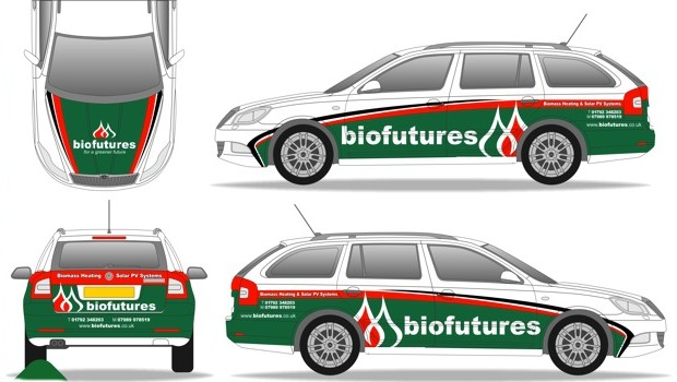 Biofutures new service vehicle